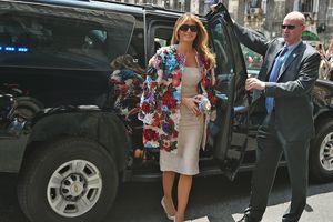 Меланья Трамп блеснула на Сицилии в жакете за 51 тысячу долларов