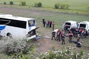 Крупное ДТП в Турции: погибли восемь человек