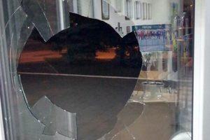 В Краматорске неизвестные атаковали офис украинского телеканала