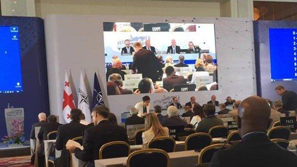 Украина передала НАТО материалы по РФ. Фото: solydarnist.org