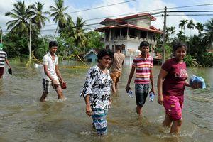 Число жертв наводнений на Шри-Ланке возросло до 151 человека