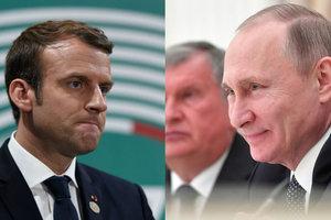 Боровой: Макрон напомнит Путину, что нужно уважать чужие границы