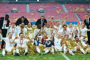 "Футболисты ""Копенгагена"" отдали Кубок Дании инвалиду на трибунах"
