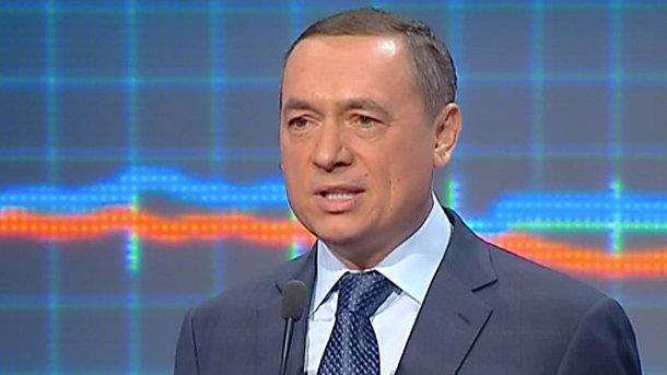 Арестована часть имущества Николая Мартыненко