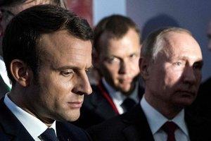 В России оценили визит Путина к Макрону
