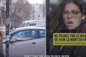 """Видеошок: во Франции оригинально """"пугают"""" пешеходов-нарушителей"""