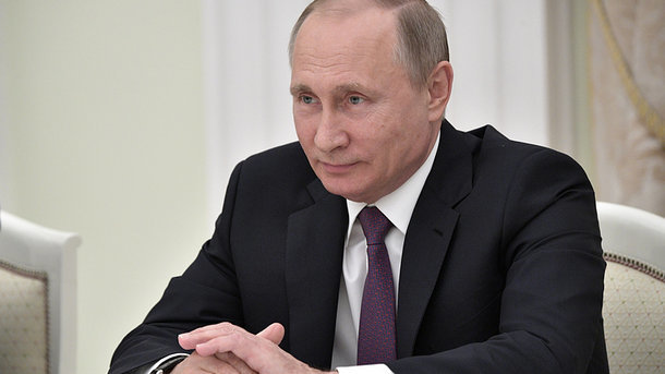 Владимир Путин. Фото: пресс-служба президента РФ