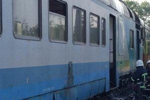 В Черновицкой области загорелся пассажирский поезд