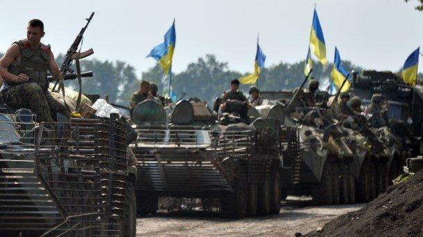 Боевики боятся украинских военных. Фото: AFP