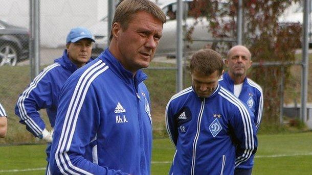 Хацкевич— главный тренер «Динамо»