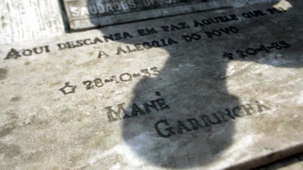 Останки знаменитого  футболиста Гарринчи бесследно пропали  вБразилии