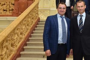 Глава ФФУ Павелко заменил Чеферина на должности в УЕФА