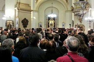 Во Львове в церкви св.Юра простились с Любомиром Гузаром