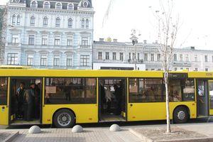 В Киеве изменится работа автобусов из-за закрытия движения по улице Сагайдачного (схемы)