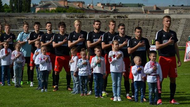 """""""Верес"""" в следующем сезоне сыграет в Премьер-лиге. Фото veres.club"""