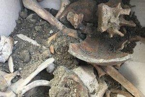 Во Львове на территории костела нашли массовые захоронения людей