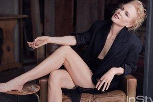 Николь Кидман снялась без юбки для журнала