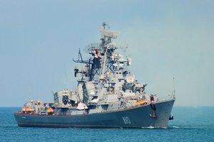 Россия перебросила свой боевой корабль в Черное море