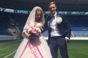 Футболист Валерий Лучкевич сыграл свадьбу в Днепре