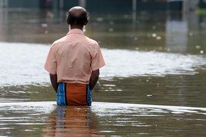 Мощное наводнение затопило Китай