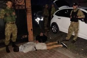 Сына экс-силовика ловили 8 экипажей полиции (видео)