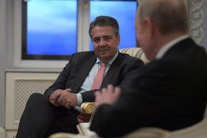 Глава МИД Германии обсудил с Путиным события в Украине и Сирии