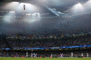 Уэльс передал Украине эстафету проведения финала Лиги чемпионов