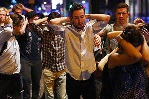 Двое нападавших застрелены на Лондонском мосту - The Sun