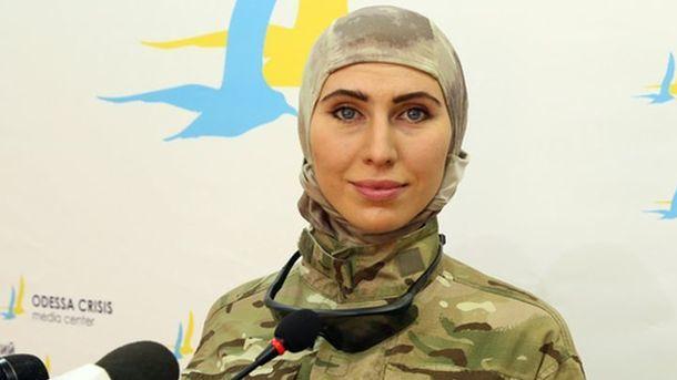 Амина Окуева, фото Телеграф