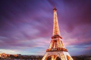 Эйфелева башня погрузится во тьму из-за теракта в Лондоне