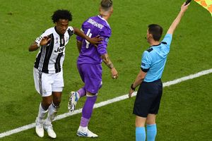 Стало известно за что удалил судья Куадрадо в финале Лиги чемпионов