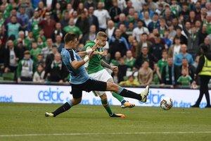Сборная Ирландии обыграла Уругвай в товарищеском матче