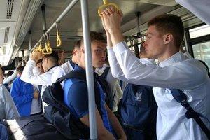 Сборная Украины улетела в Австрию