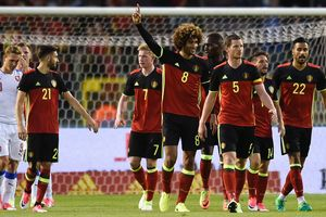 Сборная Бельгии выиграла у Чехии в товарищеском матче