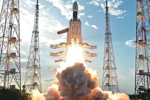 Индия запустила в космос крупнейшую ракету грузоподъемностью 4 тонны