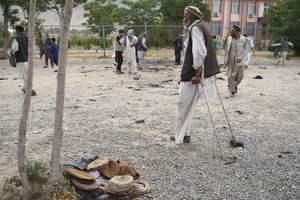 В Кабуле на теннисный корт упала ракета