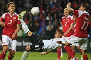 Дания упустила победу над Германией в товарищеском матче