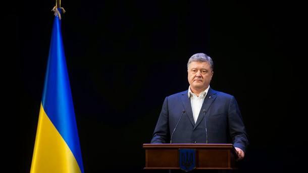 Порошенко вернул закон в парламент для повторного рассмотрения. Фото: Петро Порошенко / Facebook