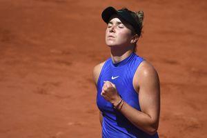 Свитлина упустила победу над Халеп в четвертьфинале Ролан Гаррос
