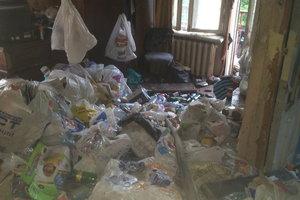 Квартира-свалка стала могилой для жителя Харькова