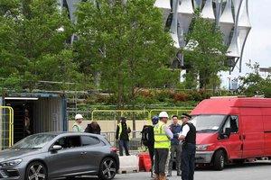 В Лондоне полиция подорвала два автомобиля, оставленных возле посольства США