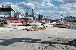 В Харькове - транспортный коллапс из-за масштабного ремонта