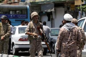 Двойной теракт в Тегеране: задержаны пять подозреваемых