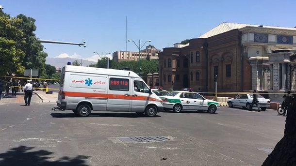 Утром в среду, 7 июня, в столице Ирана произошел двойной теракт, фото AFP
