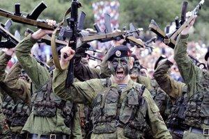 Россия перебросила в Крым подразделения морской пехоты