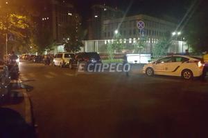 В Киеве произошел взрыв на территории посольства США