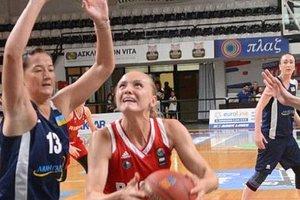 Сборная Украины одержала первую победу на турнире в Греции