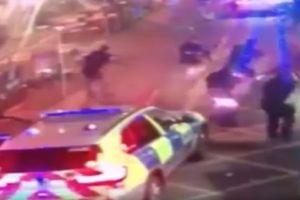 Опубликовано видео убийства террористов полицией Лондона (18+)