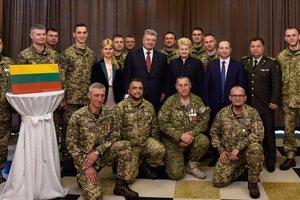 Литва продолжит оказывать медицинскую помощь украинским военным, раненым на Донбассе