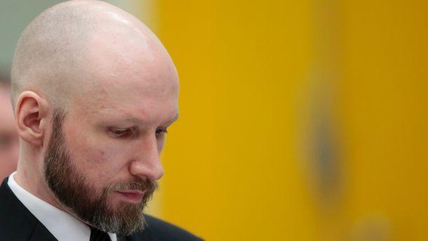 Организатор норвежской бойни Брейвик изменил имя